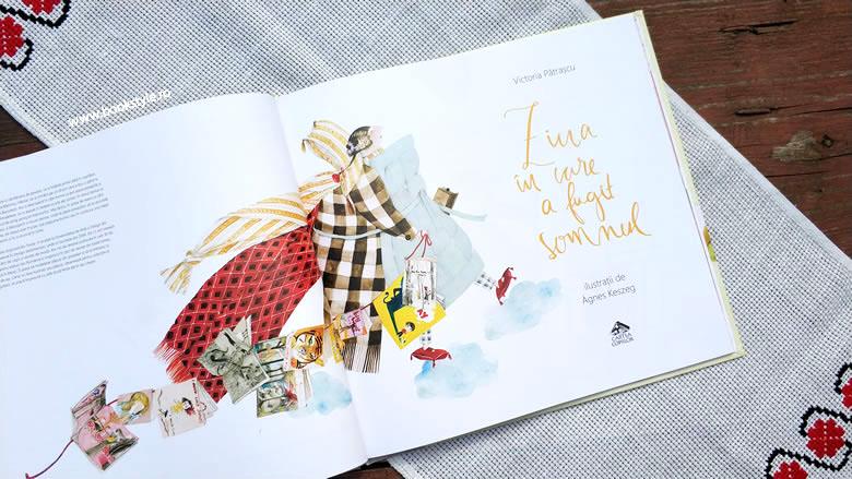 Ziua în care a fugit Somnul de Victoria Pătrașcu, cu ilustrații de Ágnes Keszeg, Editura Cartea Copiilor, ISBN: 978-606-8544-56-4