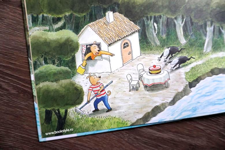 Carte de căutare: A dispărut tortul!, de Thé Tjong-Khing – Editura Frontiera