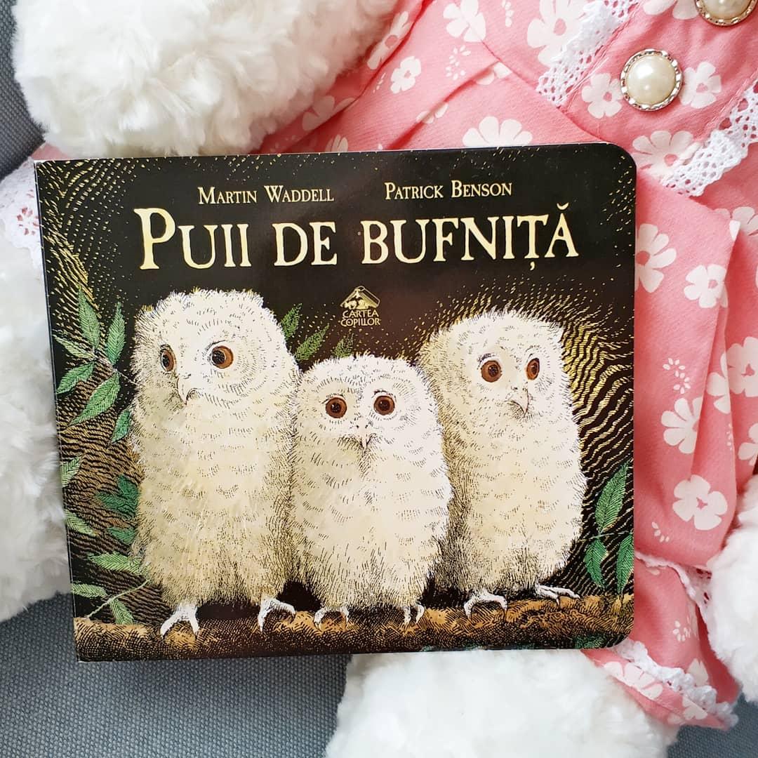 Puii de bufnita, de Martin Waddelll si Patrick Benson, Florin Bican - Editura Cartea Copiilor ISBN: 978-606-8544-72-4