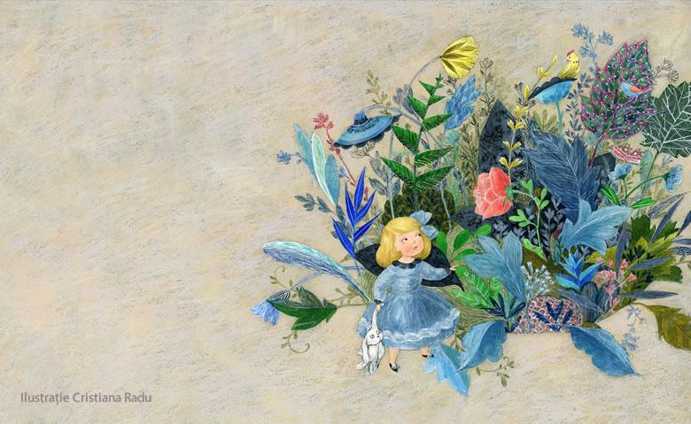 Cristiana Radu - ilustratie De ce zboară vrăjitoarele pe cozi de mătură, de Adina Rosetti - Editura Curtea Veche 2016