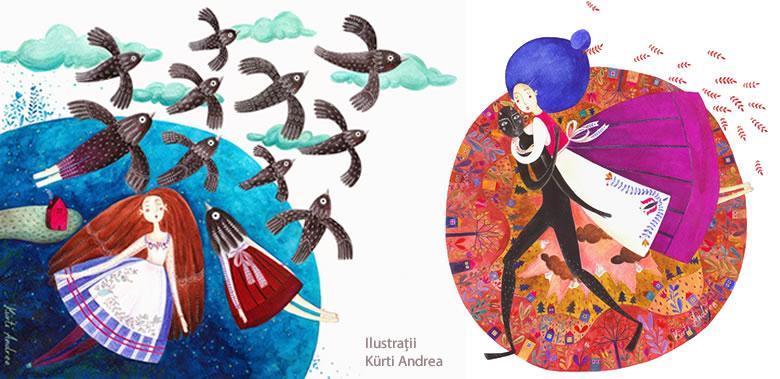 Kürti Andrea - ilustratii carte copii