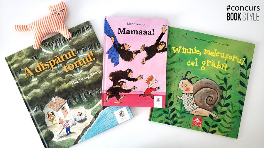 Concurs de cărți pentru copii- APRILIE Book Style