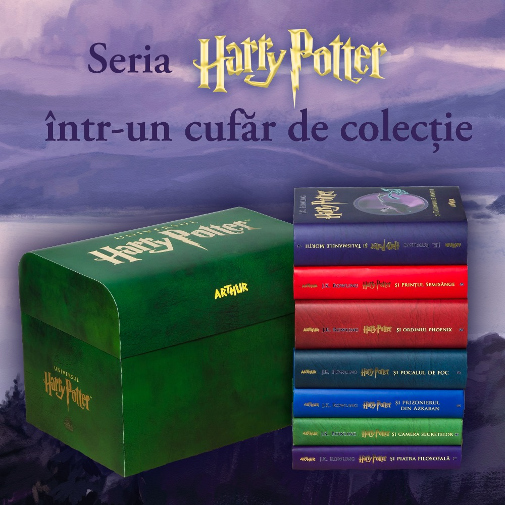 Cufar Harry Potter - Integrala Harry Potter - Editura Arthur