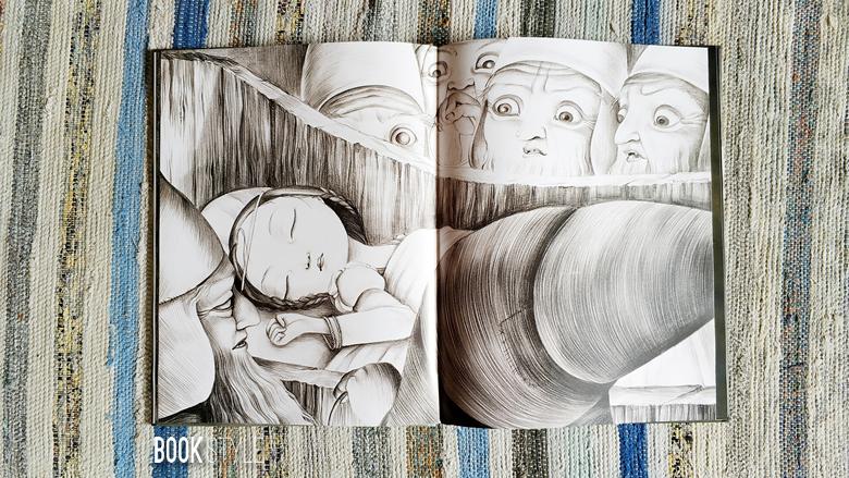Albă-ca-Zăpada, de Frații Grimm, Suzanne Kabok și Benjamin Lacombe - Corint Junior ISBN: 978-973-128-759-1