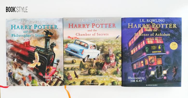 Cărți ilustrate Harry Potter
