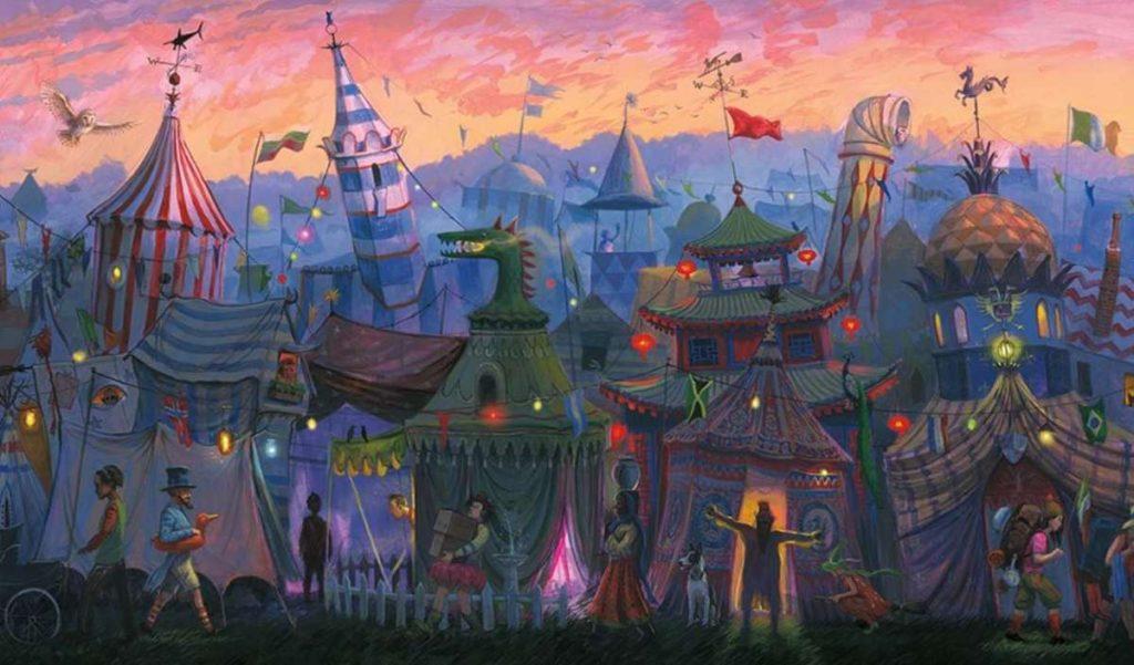 Harry Potter 4 editie ilustrata