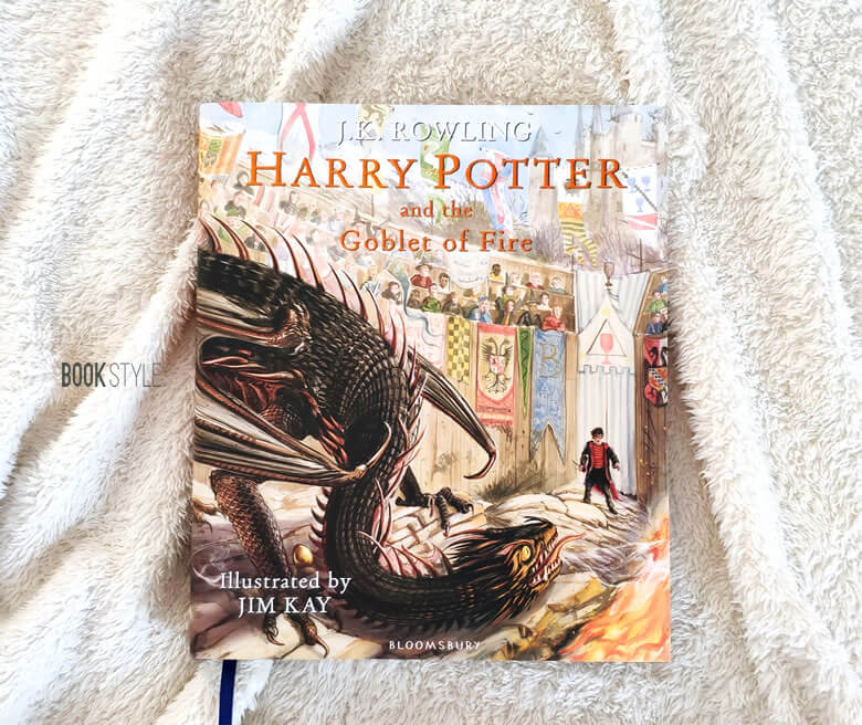 Harry Potter and the Goblet of Fire Illustrated Edition - Carte ilustrata