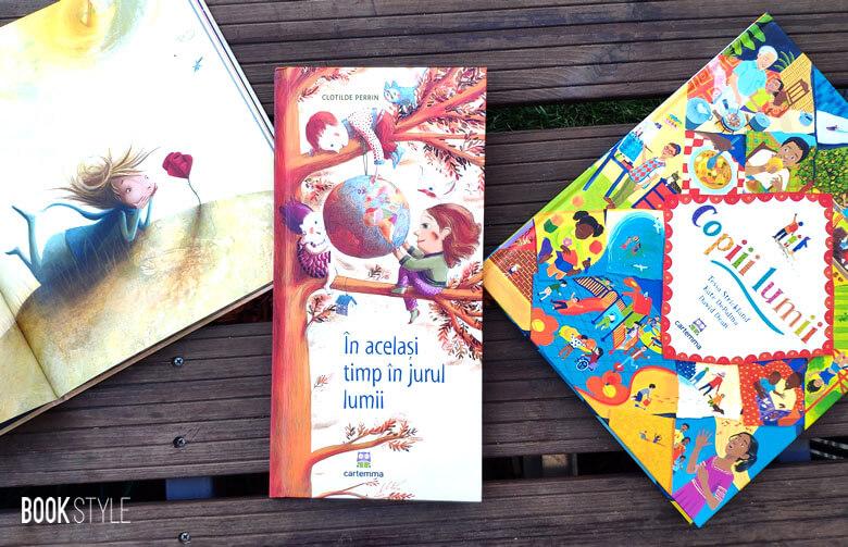 În același timp în jurul lumii, de Clotilde Perrin - Editura Cartemma ISBN: 9786069463734