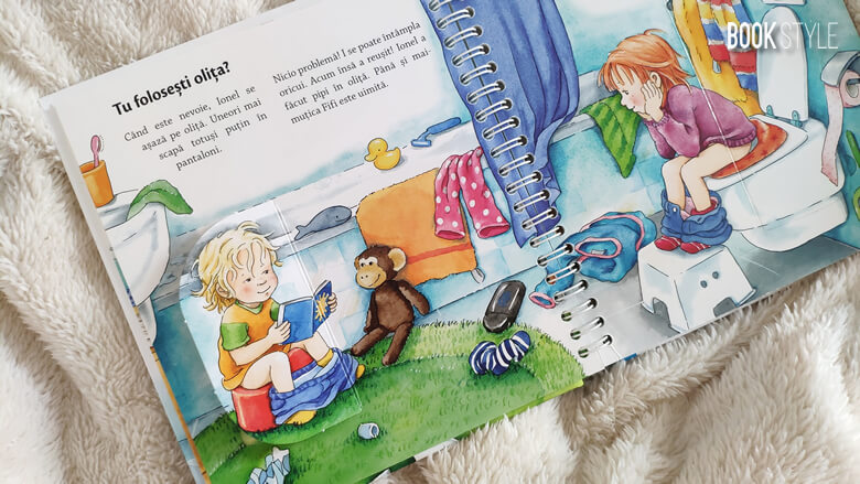 Mă spăl pe dinți, folosesc olița, pentru 2-4 ani - Editura Casa ISBN: 9786067870725