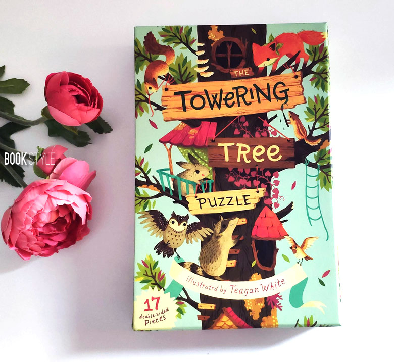 Puzzle de podea: The Towering Tree Puzzle, iChronicle Books ISBN: 978-1452145419