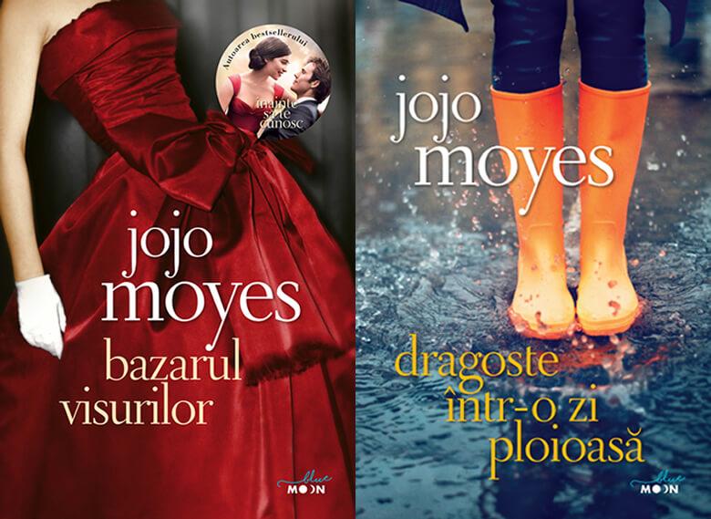 Bazarul visurilor - Dragoste intr-o zi ploioasă, de Jojo Moyes - editura Litera