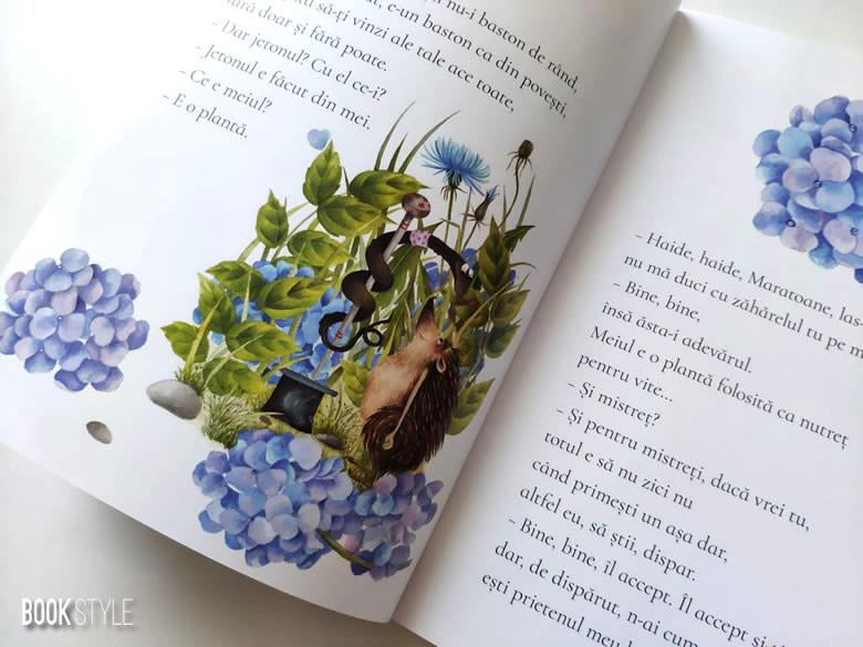 Extraordinara călătorie a ariciului Ariston, de Iulian Tănase și Alexia Udriște - EdItura Nemi ISBN: 978-606-43-0529-9