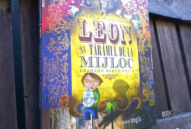 Leon și Tărâmul de la Mijloc, de Angela McAllister și Grahame Baker-Smith. - Editura Vellant
