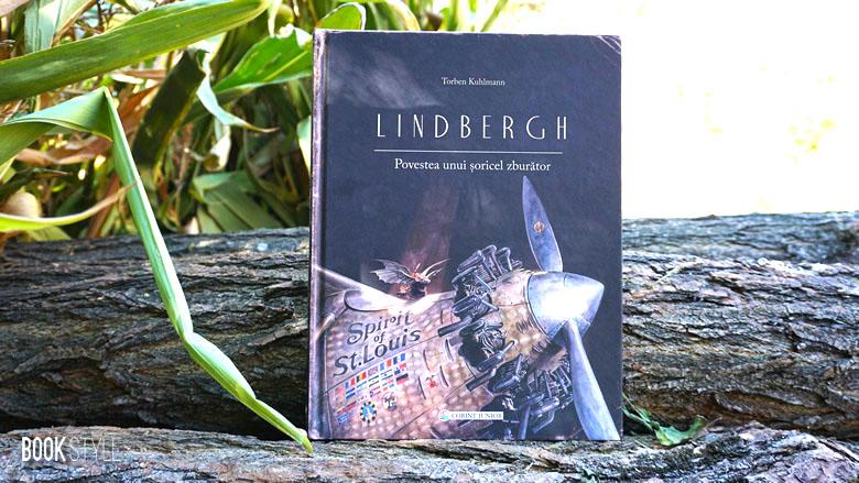 Lindbergh. Povestea unui şoricel zburător - Torben Kuhlmann - Corint Junior