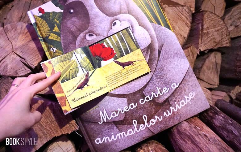 Marea carte a animalelor uriașe și Cărticica animalelor mici Crisitna Banfi, Cristina Peraboni, Francesca Cosanti - Editura DPH ISBN: 594-848-935-900-2