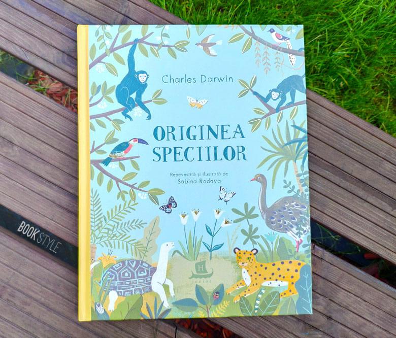 Originea speciilor, de Charles Darwin - Repovestită și ilustrată de Sabina Radeva - Editura Humanitas Junior - ISBN: 978-973-50-6390-0