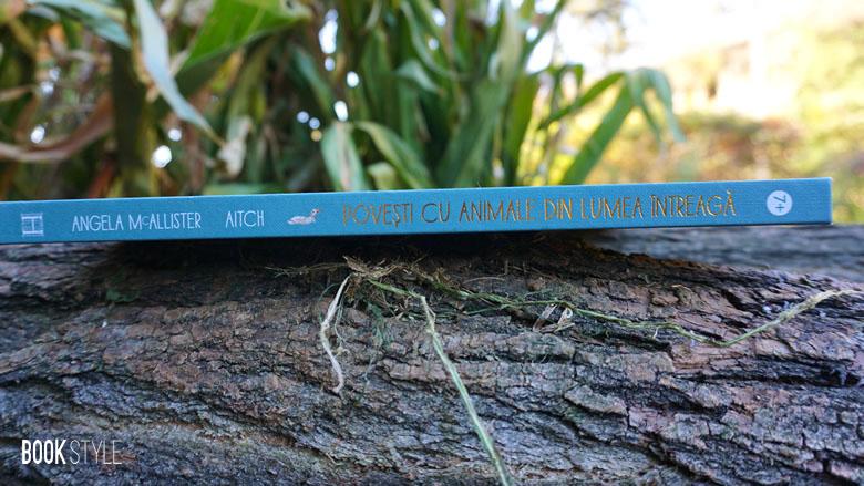 Povești cu animale din lumea întreagă. 50 de basme și legende de Angela McAllister și Aitch - Humanitas Junior ISBN: 978-973-50-6386-3