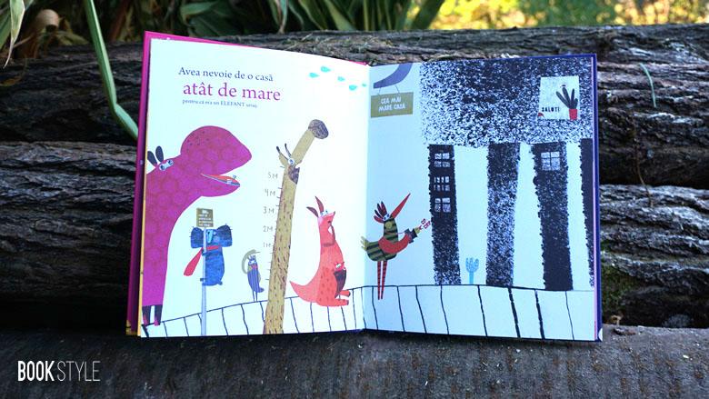 Prietenia de pe trompa elefantului, de Marius Marcinkevicius și Aušra Kiudulaite - Editura Cartemma ISBN: 9786069463796