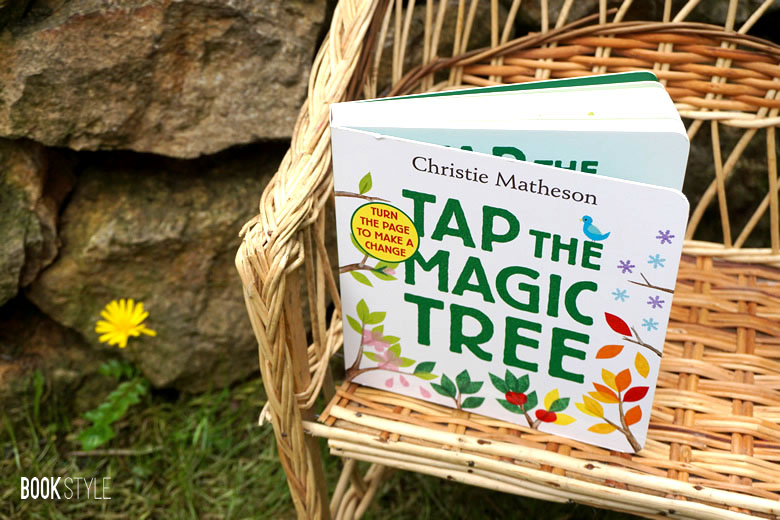 Tap the Magic Tree - Atinge copacul magic, de Christie Matheson - Editura Greenwillow Books - Harper CollinsISBN: 978-0062274465