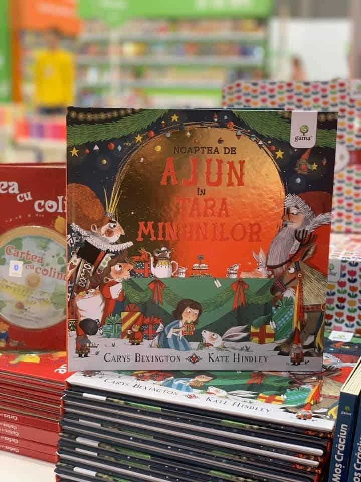 Noaptea de Ajun în Țara Minunilor, de Carys Bexington și Kate Hindley | Editura Gama
