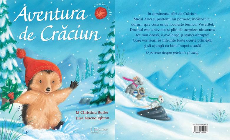 Aventură de Crăciun, de M. Christina Butler și Tina Macnaughton - Editura Univers Enciclopedic Junior