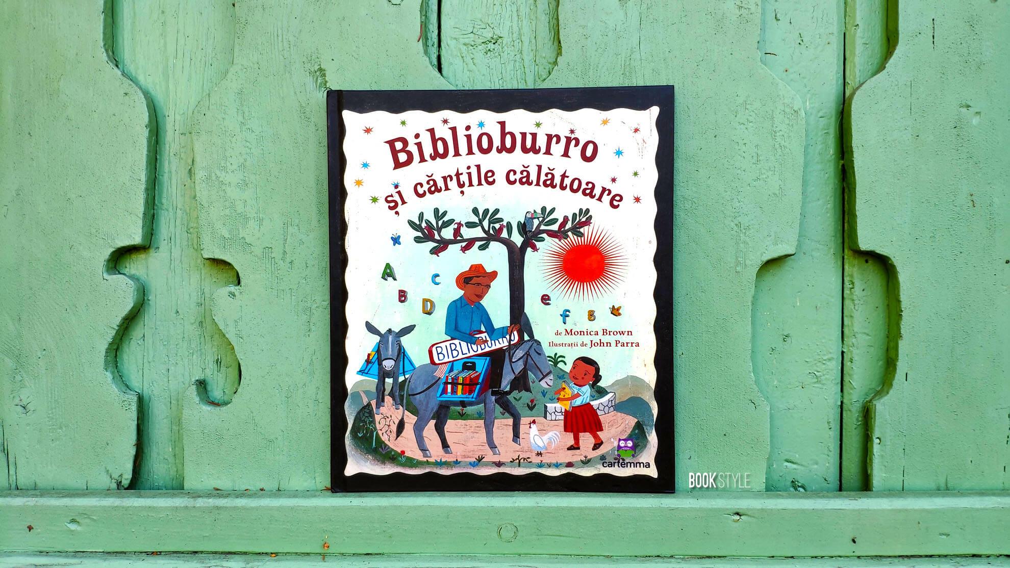 Biblioburro, de Monica Brown și John Parra | Editura Cartemma ISBN: 9786069025017