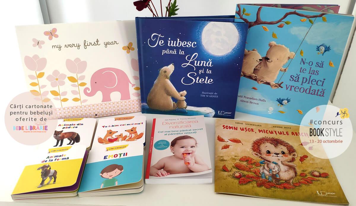 Concurs: Cărți pentru părinți și bebe