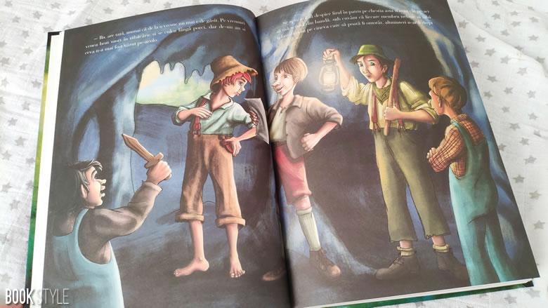 Aventurile lui Huckleberry Finn, de Mark Twain și Anca Smărăndache | Editura Arthur
