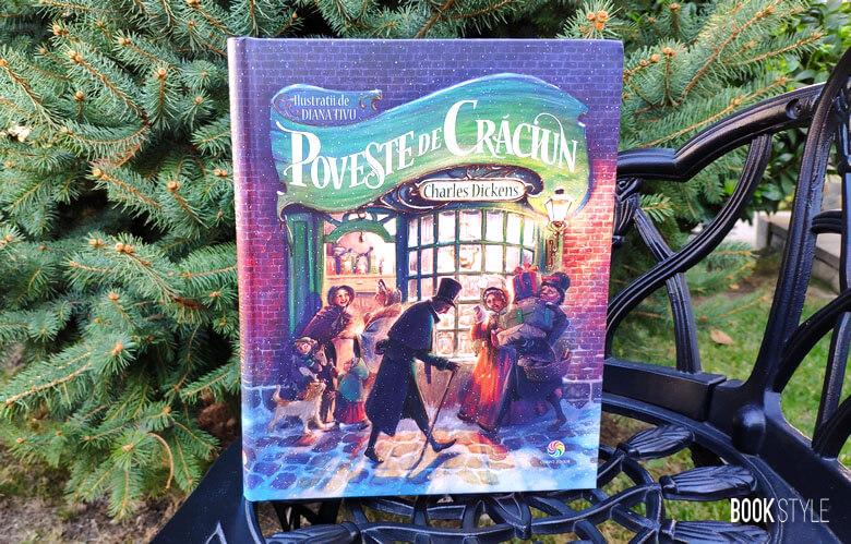 Poveste de Crăciun, de Charles Dickens și Diana Tivu | Editura Corint Junior