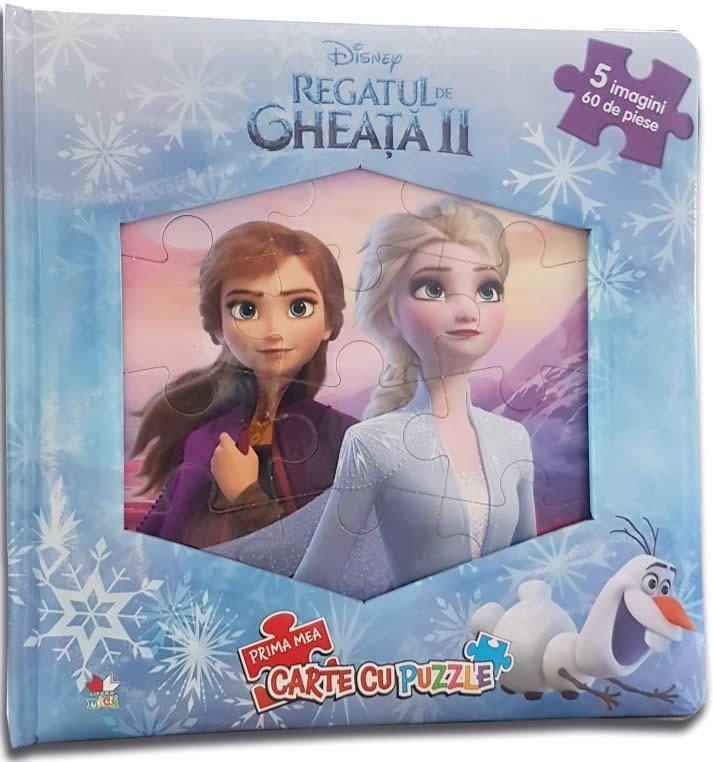 Regatul de gheață - Volumul 2. Carte puzzle | Editura Litera
