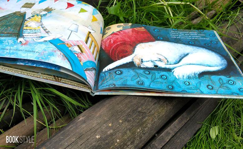 Să dormi ca un tigru, de Mary Logue și Pamela Zagarenski - Medalia Caldecott - Editura Frontiera