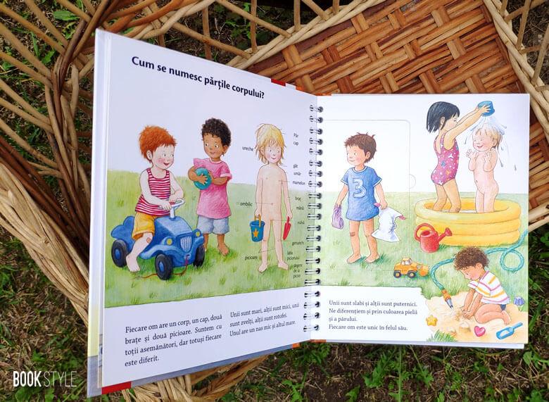 Acesta sunt eu și acela ești tu. O carte interactivă pentru juniori despre corpul uman | Editura Casa