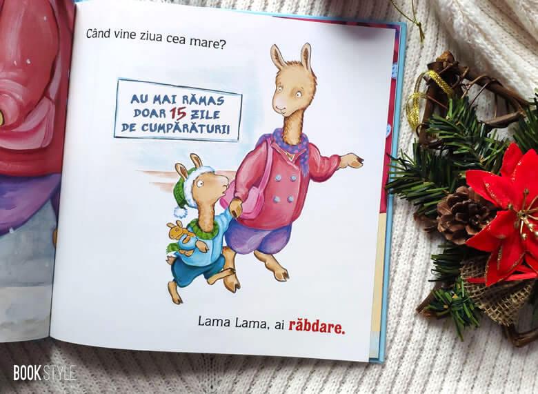 Lama Lama de Crăciun, de Anna Dewdney | Editura Nemi
