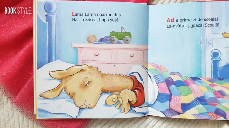 Lama Lama dor de mama, de Anna Dewdney. Lama începe grădinița | Editura Nemi