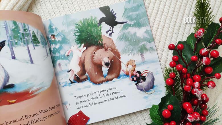 Martin stă treaz de Crăciun, de Karma Wilson și Jane Chapman | Editura Litera Mică