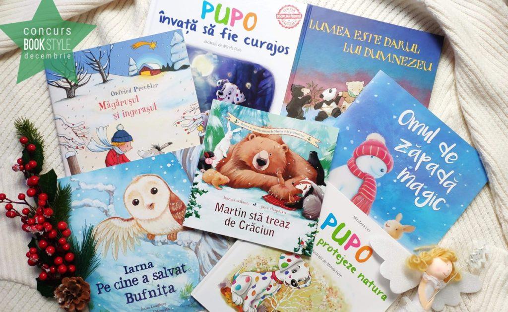 Concurs cărți de Crăciun (1-5 ani)