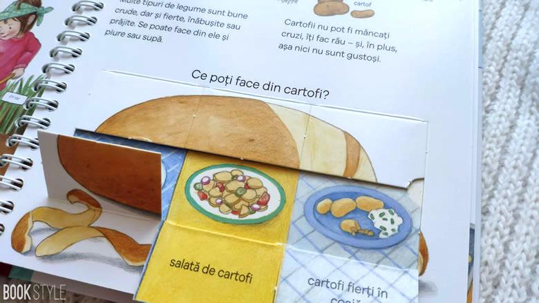 Ce mâncăm?, de Doris Rübel - Colecția Junior (2-4 ani) | Editura Casa ISBN: 9786067870893