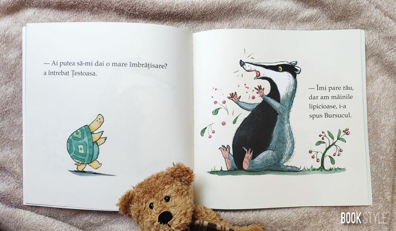 Îmbrățișarea, de Eoin McLaughlin si Polly Dunbar, Editura PandoraM, colecția panDa