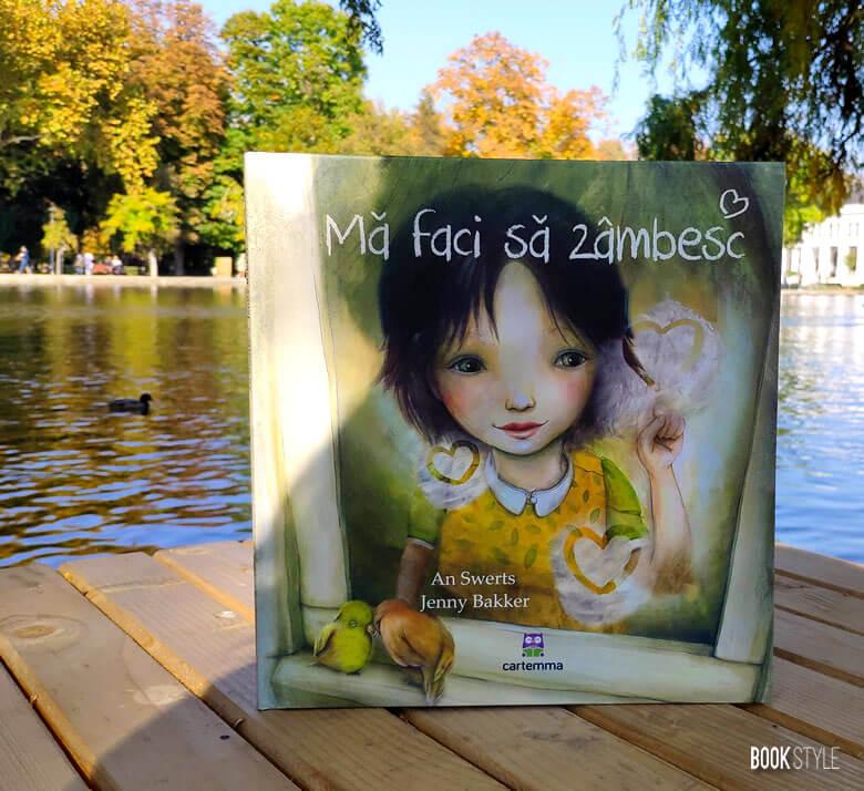 Mă faci să zâmbesc. de An Swerts și Jenny Bakker. Despre îndrăgostire | Editura Cartemma