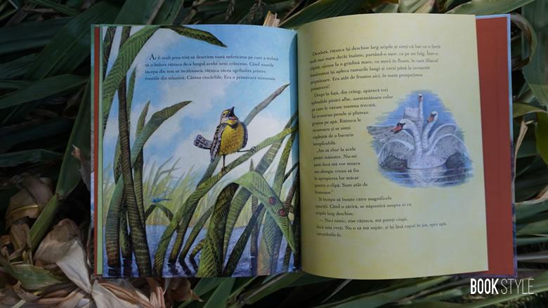 Rățușca cea urâtă, de Hans Christian Andersen. O ediție superbă, ilustrată de Steve Johnson și Lou Fancher - Editura Vellant