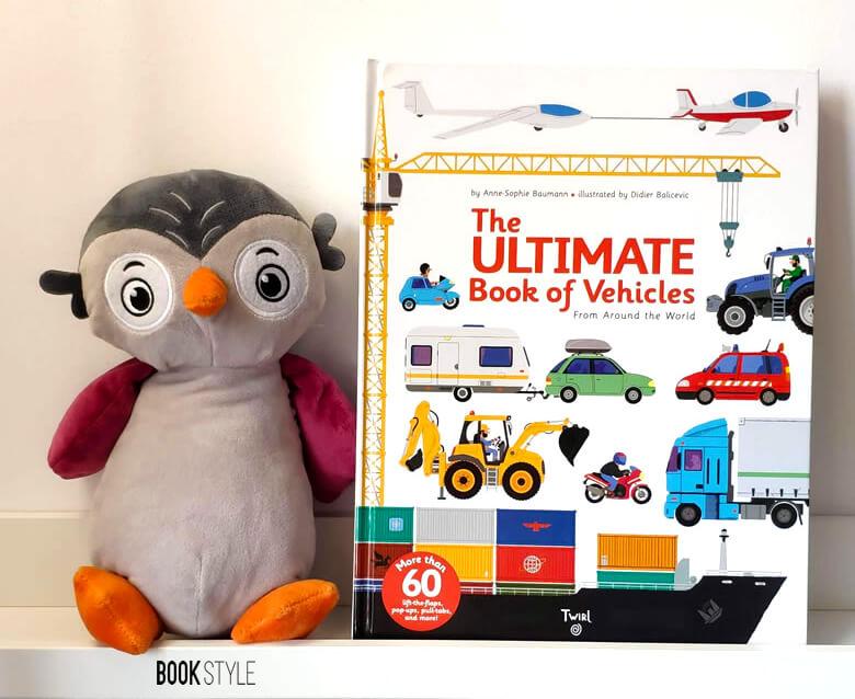 Cărți interactive pentru copii, cu și despre utilaje de construcție și șantier. Carte cu ferestre -The Ultimate Book of Vehicles