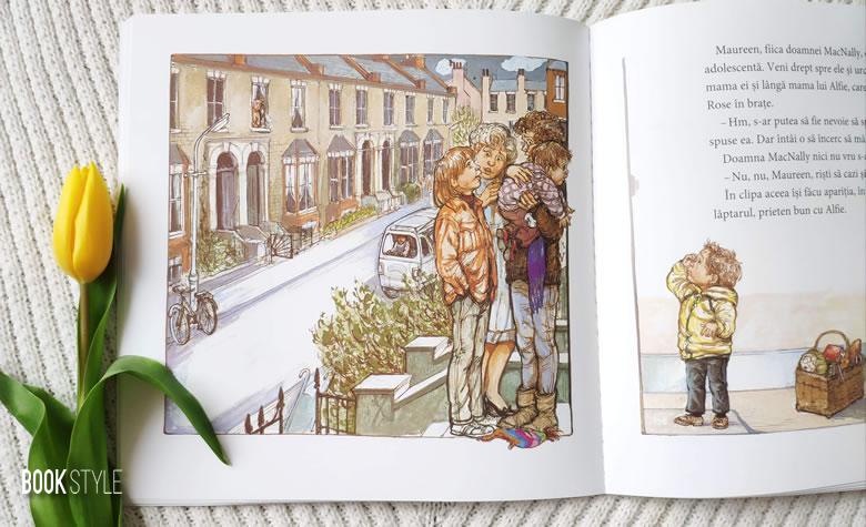 Alfie intră primul (Alfie Gets in First), de Shirley Hughes | Editura Litera