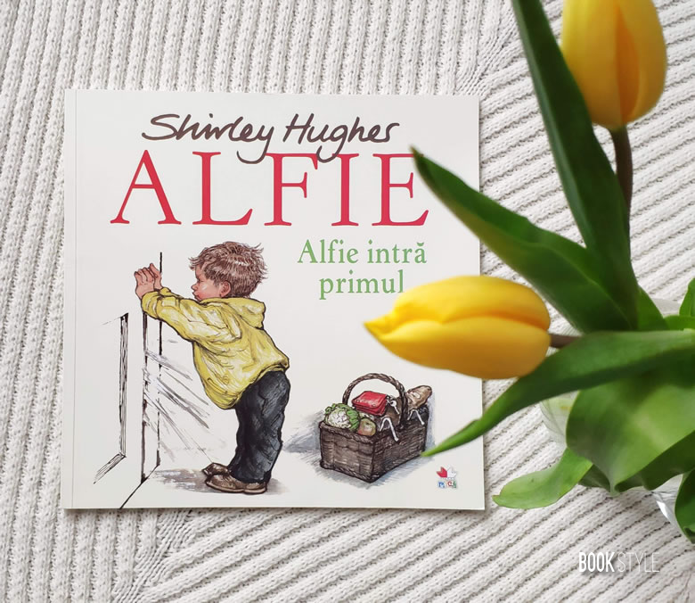 Alfie intră primul (Alfie Gets in First), de Shirley Hughes | Editura Litera