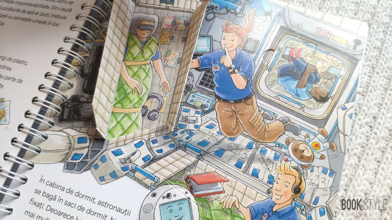 Ce face un astronaut?, de Peter Nielander. Colecția Junior (2-4 ani) | Editura Casa