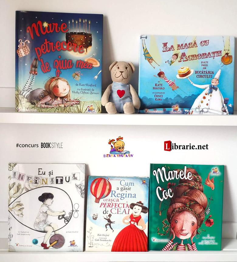Seria de cărți Kate Hosford - Editura Lizuka Educativ și librarie.net