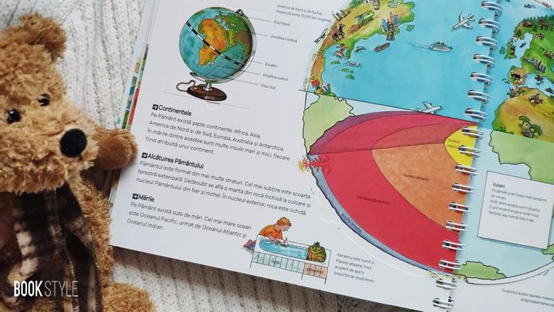Prima mea enciclopedie interactivă, cu clapete/ferestre - Colecția Junior (4-7 ani)   Editura Casa