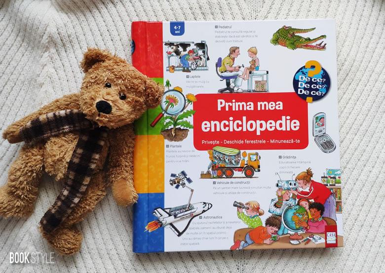 Prima mea enciclopedie interactivă, cu clapete/ferestre - Colecția Junior (4-7 ani) | Editura Casa
