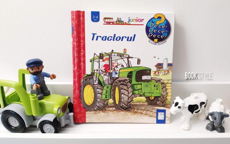 Tractorul - Carte cu clapete. Colecția Junior 2-4 ani | Editura Casa