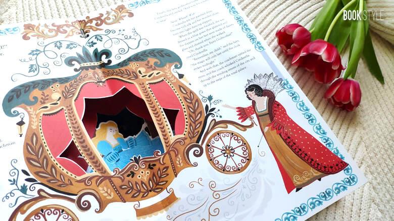 Cenușăreasa | Cinderella, de Katie Haworth și Dinara Mirtalipova - Editura Templar Publishing ISBN: 9781783705801