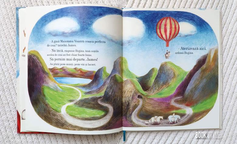 Cum a găsit Regina ceașca perfectă de ceai, de Kate Hosford și Gabi Swiatkowska | Editura Lizuka Educativ